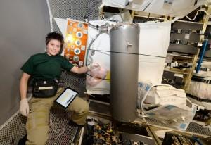 L'astronauta italiana Samantha Cristoforetti
