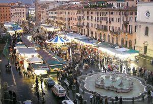 I mercatini di piazza Navona
