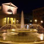 Piazza Pia di notte