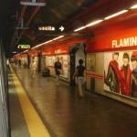 La metro di Roma