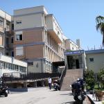 L'ingresso dell'Ospedale di Anzio e Nettuno