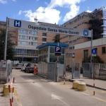 L'ingresso dell'ospedale Santa Maria Goretti di Latina