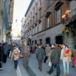Via Condotti a Roma