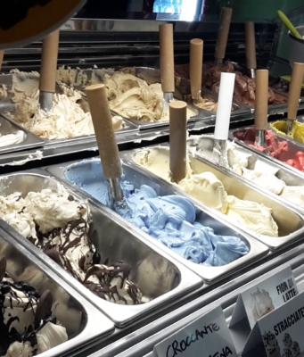 vaschette di gelato