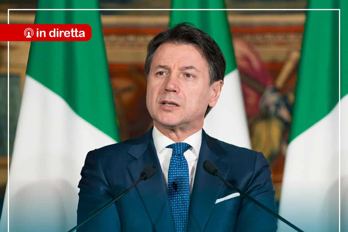 Discorso Conte  Orario Conferenza Stampa In Diretta Tv E Streaming