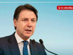 Conferenza stampa Giuseppe Conte in diretta