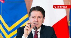 Diretta Giuseppe Conte conferenza stampa