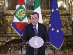 Mario Draghi diretta